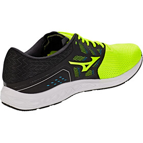 Mizuno Wave Sonic Running Shoes Men safety yellow/black/white